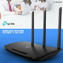 Load image into Gallery viewer, TP-Link TL-WR940N Wireless Router 450Mpbs, 4 Lan Port - TUZZUT Qatar Online Store