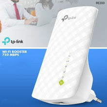 Load image into Gallery viewer, TP-Link RE200 Wireless Wi-Fi Booster, 750 Mpbs, Dual Band - TUZZUT Qatar Online Store