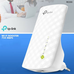 TP-Link RE200 Wireless Wi-Fi Booster, 750 Mpbs, Dual Band - TUZZUT Qatar Online Store