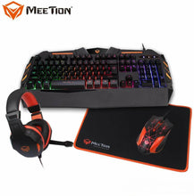 Load image into Gallery viewer, Meetion c500 4 in 1 Gaming Set for PC and Laptop