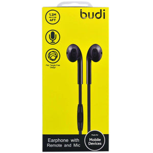 budi M8J102EP Earphone with Remote and Mic - TUZZUT Qatar Online Store