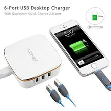 Load image into Gallery viewer, LDNIO USB Charger 6 Port with Quick Charge 2.0 35W 7A  - TUZZUT Qatar Online Store