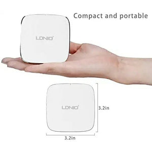 LDNIO USB Charger 6 Port with Quick Charge 2.0 35W 7A  - TUZZUT Qatar Online Store