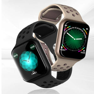 F8 Sports Smart Watch Full Touchscreen Bluetooth Music Control Heart Rate Monitor Sleep Tracker Support IOS Android