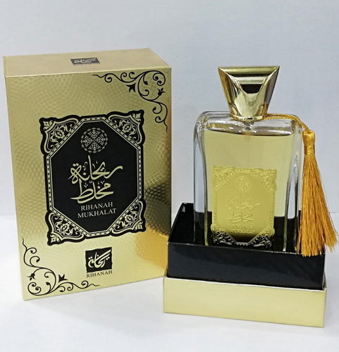 Rihanah Mukhalat for Men & Women - Eau de Parfum 100ml - TUZZUT Qatar Online Store