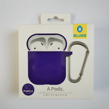 Load image into Gallery viewer, BLUEO Liquid Silicone Protection Case For Airpods - Purple - TUZZUT Qatar Online Store