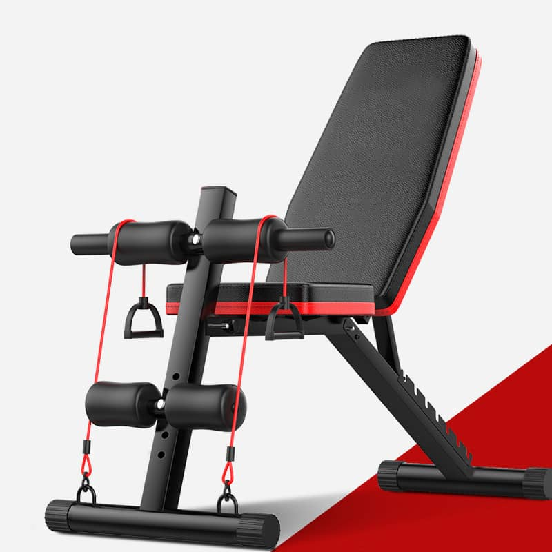 Workout adjustable Sit Up Bench Multi-functional Comfortable - TUZZUT Qatar Online Store