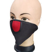 Load image into Gallery viewer, Air Pollution Face Mask with Filters - Anti-Dust, Smoke, Washable and Reusable Travel – Black (1 Pc) - TUZZUT Qatar Online Store