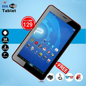 BSNL PENTA T- PAD, 2 GB / 16 GB Dual Camera WiFi 7 inch Tablet with free accessories - TUZZUT Qatar Online Store