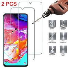 Load image into Gallery viewer, 2 Pcs Tempered Glass For Samsung A20 A20s A50 A51 M30s A30s M10 Protective HD Glass Screen Protector Safety on Galaxy Phones - TUZZUT Qatar Online Store