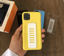 Load image into Gallery viewer, Grip2ü Slim Phone Grip Case Cover - Yellow (iPhone 11 Pro/iPhone 11 Pro Max) - TUZZUT Qatar Online Store