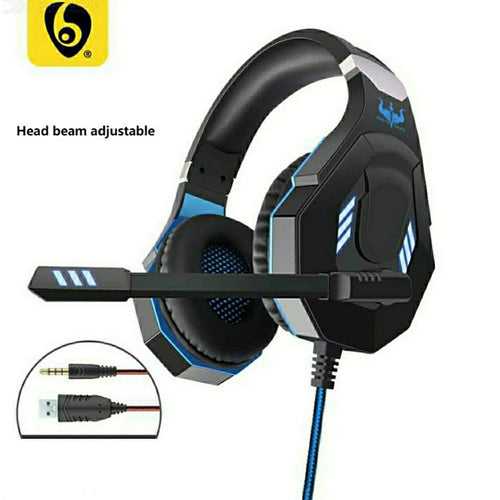 OVLENG GT93 Stereo Gaming Headset Over-ear Headphones with MIC LED Light - TUZZUT Qatar Online Store