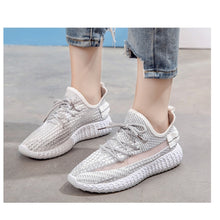Load image into Gallery viewer, Women's Fashion Breathable Shoes Sneakers - Model 1908 (White) - TUZZUT Qatar Online Store