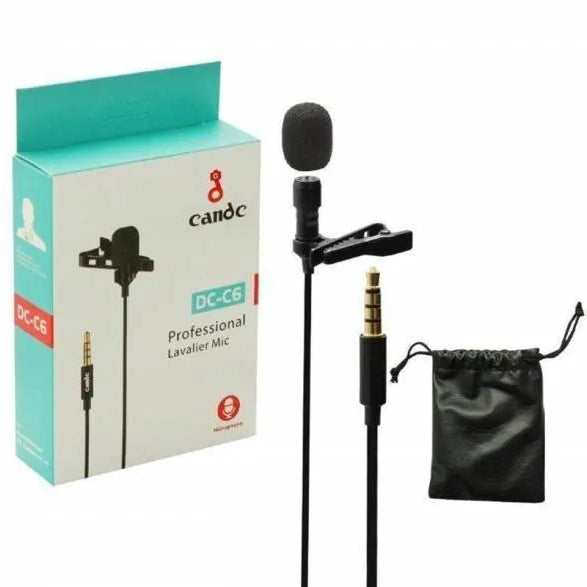 Candc DC-C6 Professional Lavalier Microphone - TUZZUT Qatar Online Store