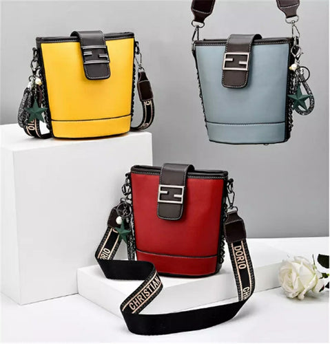 Wome's Luxury Fashion Design Vintage Bucket Mini Bag - TUZZUT Qatar Online Store