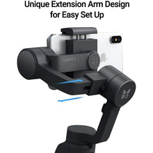 Load image into Gallery viewer, Funsnap Capture-2 3-axis Mobile Handheld Gimbal Stabilizer with Zooming Wheel Mode - TUZZUT Qatar Online Store