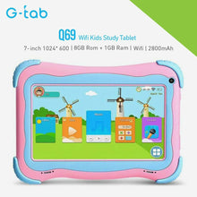 Load image into Gallery viewer, G-Tab Q69 1GB/8GB Wifi Kids Study Tablet - TUZZUT Qatar Online Store