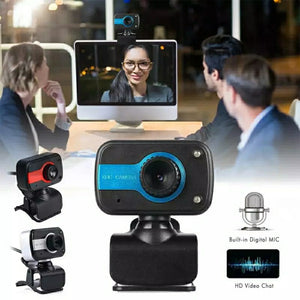 Webcam PC Camera with Microphone and Night Vision Fill Light - TUZZUT Qatar Online Store