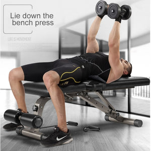Home Gym Fitness & Body Building Weight Multi-Workout adjustable Sit Up Bench - TUZZUT Qatar Online Store