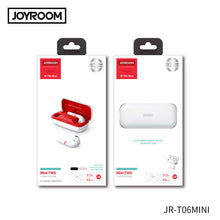 Load image into Gallery viewer, Joyroom T06 Mini TWS Wireless Earphones Bluetooth 5.0 Stereo Headset In-ear Earbuds With Charging Case - TUZZUT Qatar Online Store