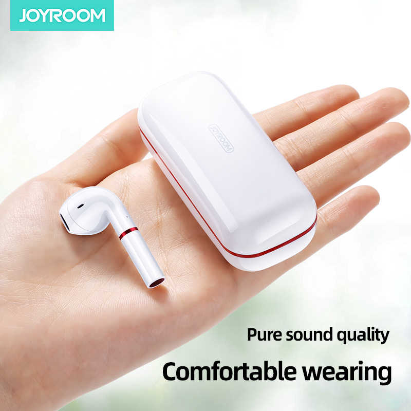 Joyroom T06 Mini TWS Wireless Earphones Bluetooth 5.0 Stereo Headset In-ear Earbuds With Charging Case - TUZZUT Qatar Online Store