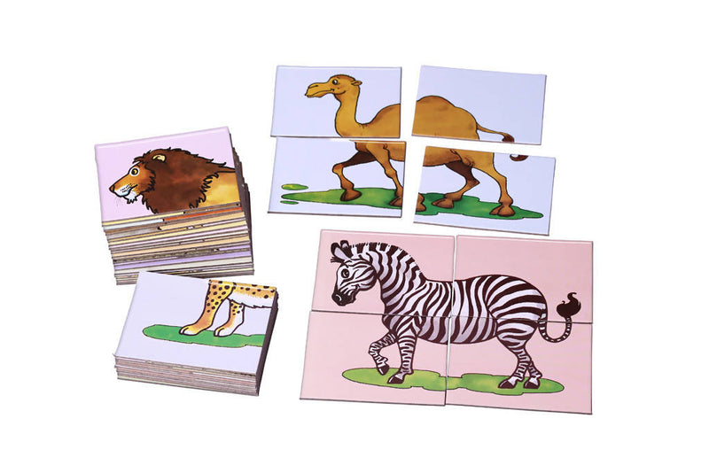 Zoo - 10 Puzzles - TUZZUT Qatar Online Store
