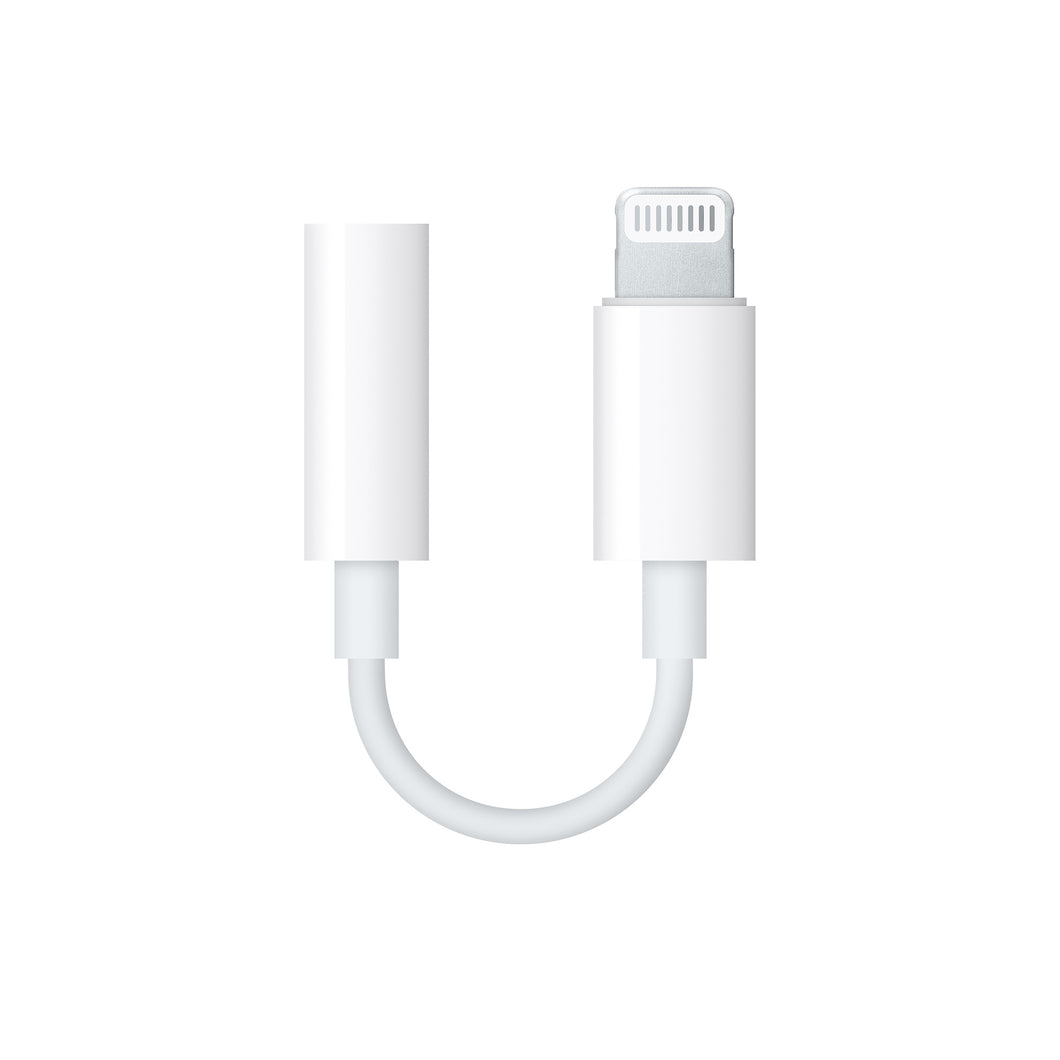 Apple Original Lightning to 3.5 mm Headphone Jack Adapter - TUZZUT Qatar Online Store