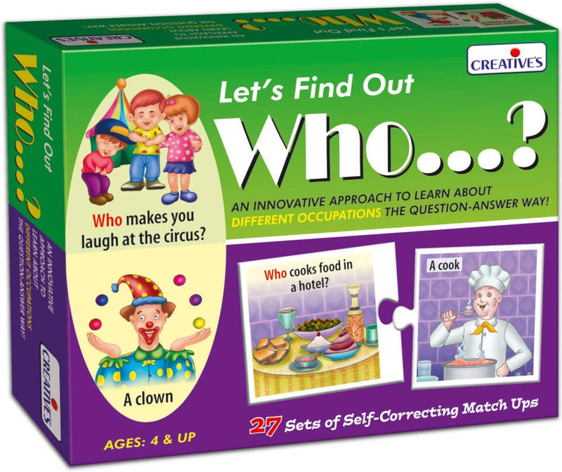 Let's Find out- Who? - TUZZUT Qatar Online Store
