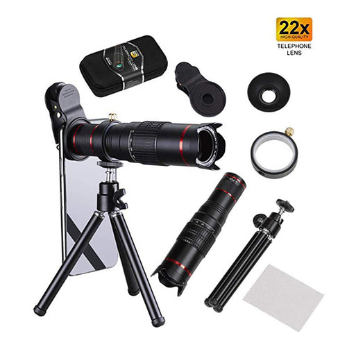 22x 4K HD Telephoto Lens For Mobile Phones (HX-S2208) - TUZZUT Qatar Online Store