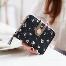 Load image into Gallery viewer, Lovely Multi Functional Women's Flower Card Holder Coin Wallet Purse - OLF-927 - TUZZUT Qatar Online Store