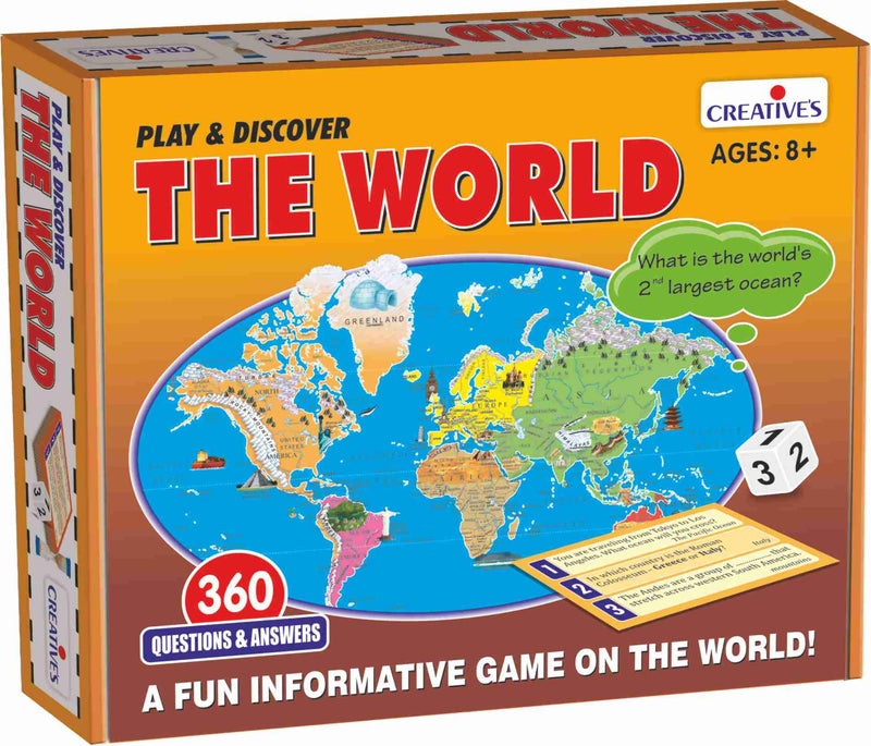 Play and Discover The World - TUZZUT Qatar Online Store