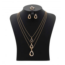 Load image into Gallery viewer, Kavani Ooval Shape Necklace Set - OK32933