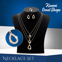 Load image into Gallery viewer, Kavani Ooval Shape Necklace Set - OK32933 - TUZZUT Qatar Online Store