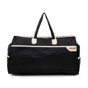 Set Of 2Pcs Travel Bags - Black