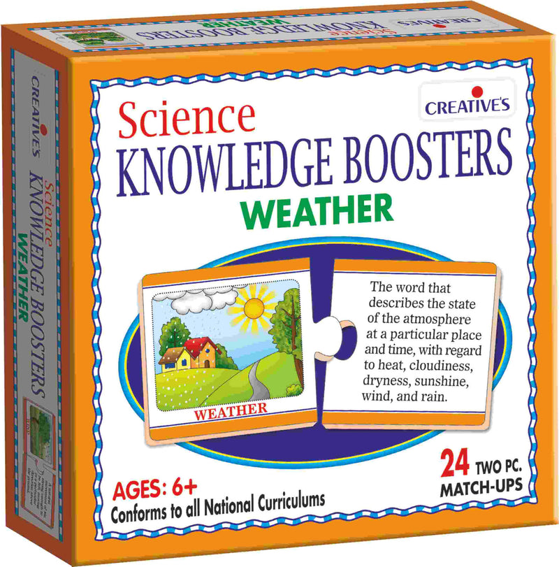 Science Knowledge Boosters-Weather - TUZZUT Qatar Online Store