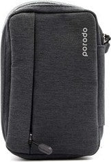 "Porodo 8.2"" Convenient Storage Bag IPX3 Water-Resistant Fabric (Without USB Port) - Black - TUZZUT Qatar Online Store"