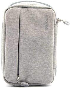 "Porodo 8.2"" Convenient Storage Bag IPX3 Water-Resistant Fabric - Gray"