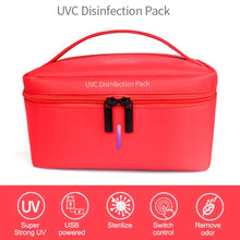 Load image into Gallery viewer, Portable UVC Sterilizer Bag Ultraviolet Disinfection Storage Bag - TUZZUT Qatar Online Store