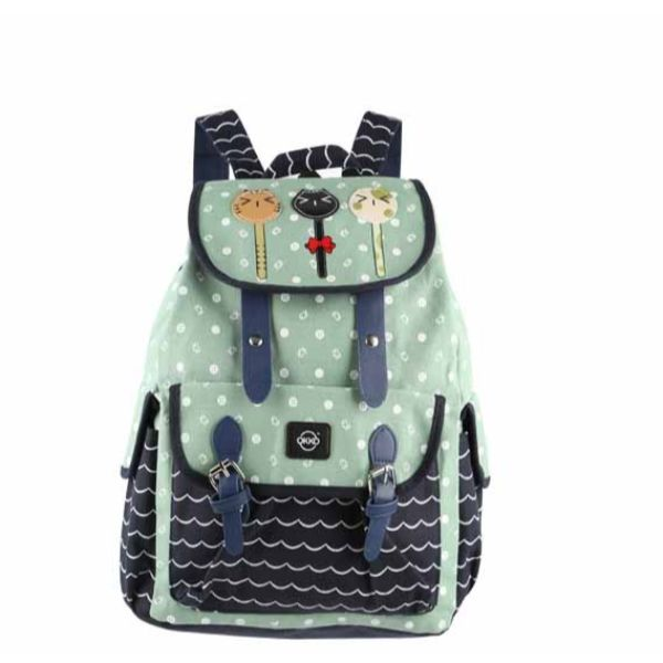 Okko Sports Printed Backpack 2Pcs - TUZZUT Qatar Online Store