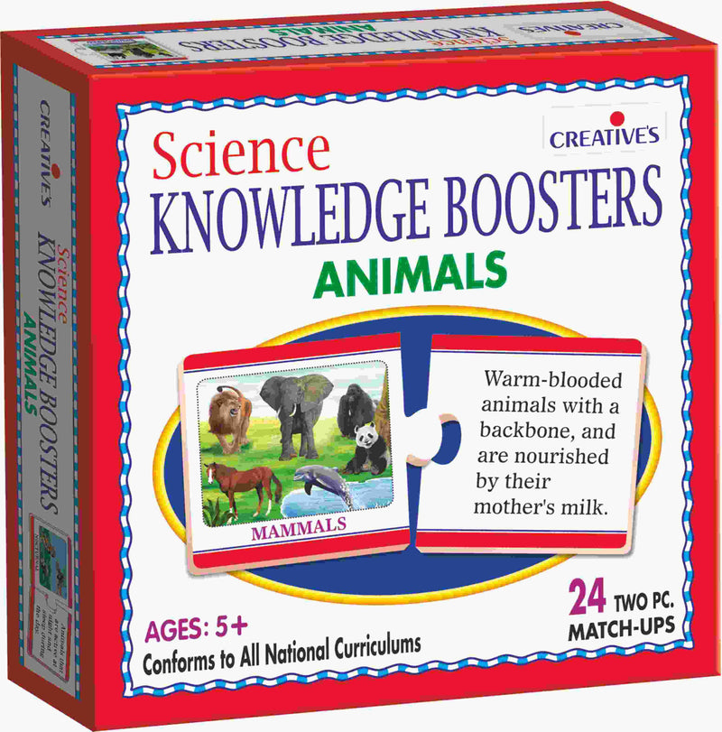 Science Knowledge Boosters- Animals - TUZZUT Qatar Online Store