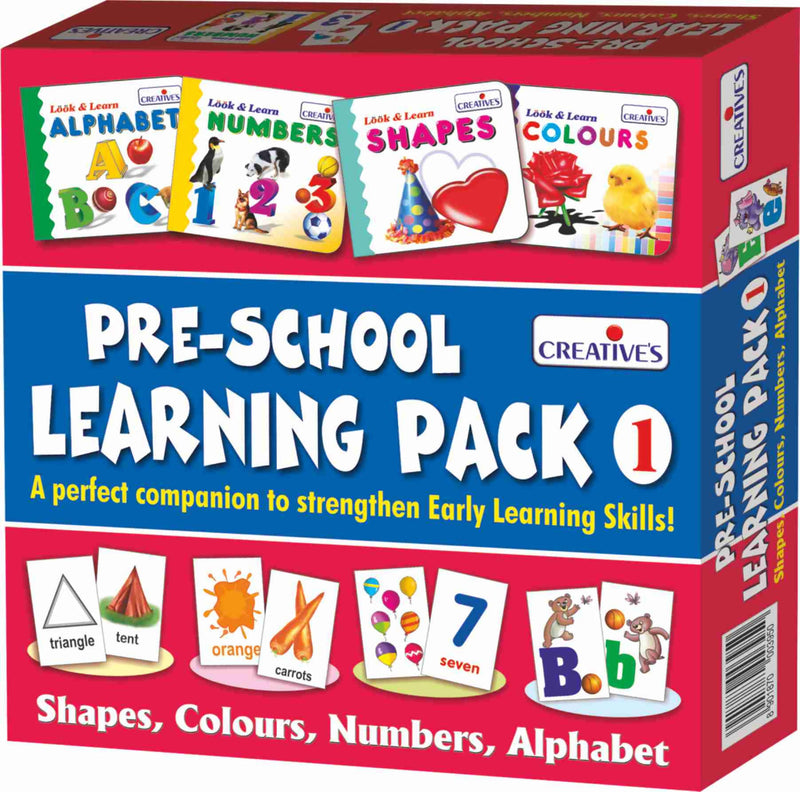 Pre School Learning Pack 1 - TUZZUT Qatar Online Store