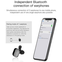 Load image into Gallery viewer, Baseus Encok W02 TWS Mini Earphone With Microphone - Black