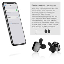 Load image into Gallery viewer, Baseus Encok W02 TWS Mini Earphone With Microphone - Black - TUZZUT Qatar Online Store
