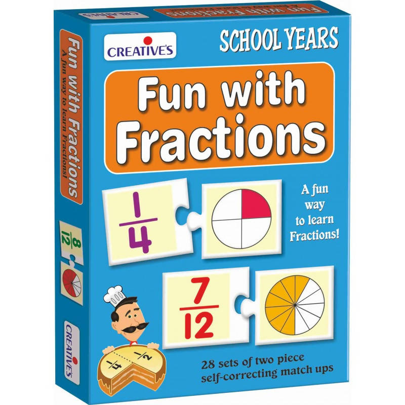 Fun with Fractions - TUZZUT Qatar Online Store