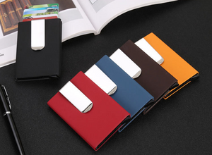 RFID Blocking high quality Card Wallet with money clip - TUZZUT Qatar Online Store