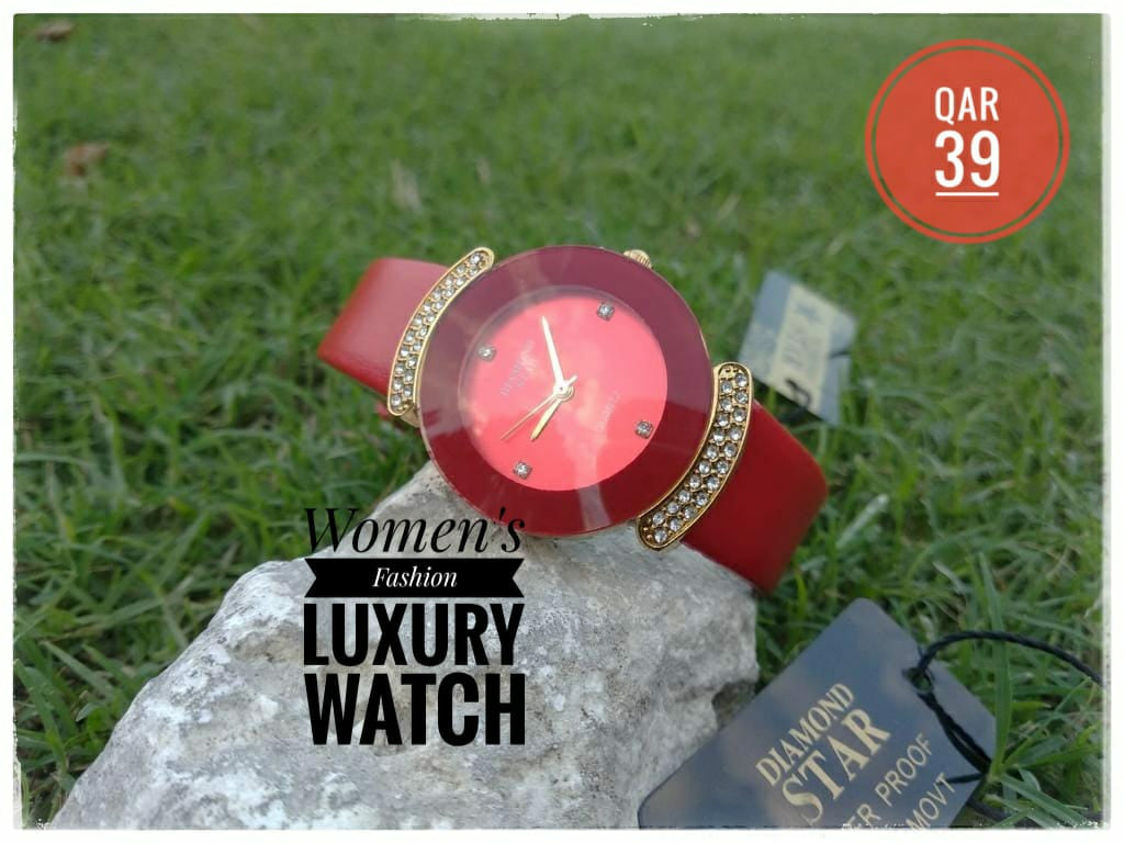 Diamond Star Luxury Fashion Watch for Women - DS100 - TUZZUT Qatar Online Store