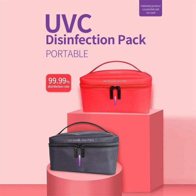 Portable UVC Sterilizer Bag Ultraviolet Disinfection Storage Bag - TUZZUT Qatar Online Store