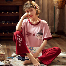 Load image into Gallery viewer, Women's Short Sleeve Pajamas Sleepwear - TK2450 - TUZZUT Qatar Online Store