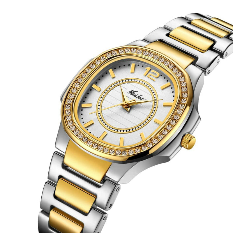 Miss Fox Fashion Designer Ladies Luxury Quartz Wrist Watch - 2549 - TUZZUT Qatar Online Store