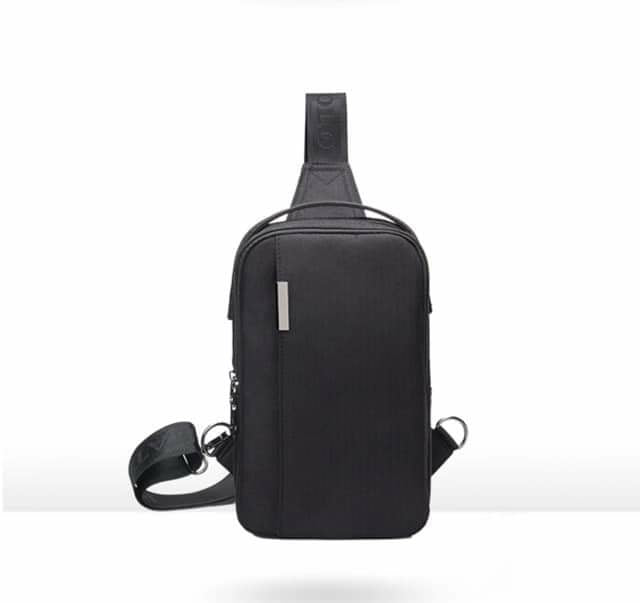 Men's Outdoor Casual Crossbody Canvas Messenger Anti- theft Bag Model
